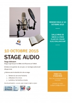 STAGE AUDIO POUR DIAPORAMA